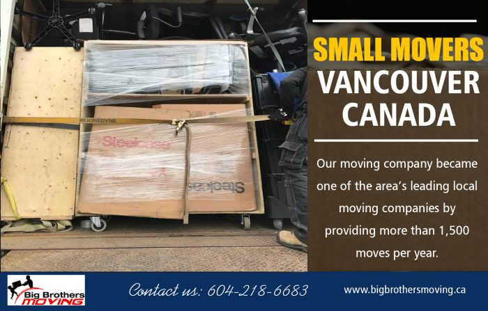 Small Movers Vancouver Canada