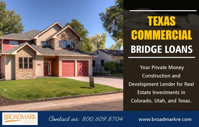 Texas Commercial Bridge Loans