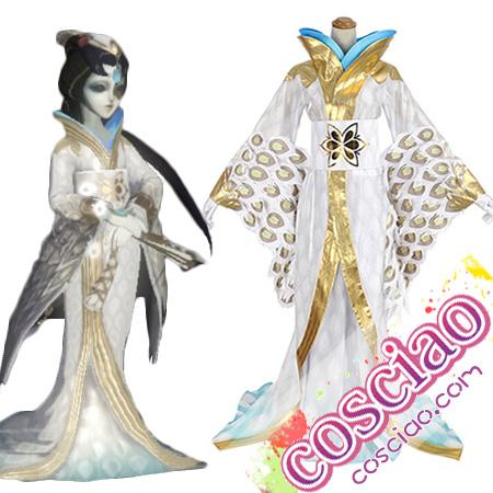 第五人格 芸者 白孔雀 コスプレ衣装 Identity V 美智子 コスチューム衣装セット 通販