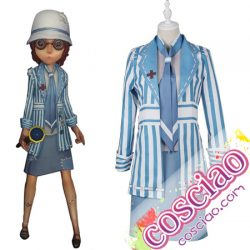 Identity V 心眼 コスプレ衣装 病衣 スキン衣装 第五人格 コスチューム 通販 女性