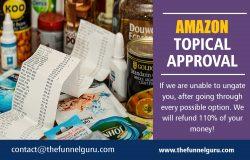 Amazon Topical Approval | thefunnelguru.com