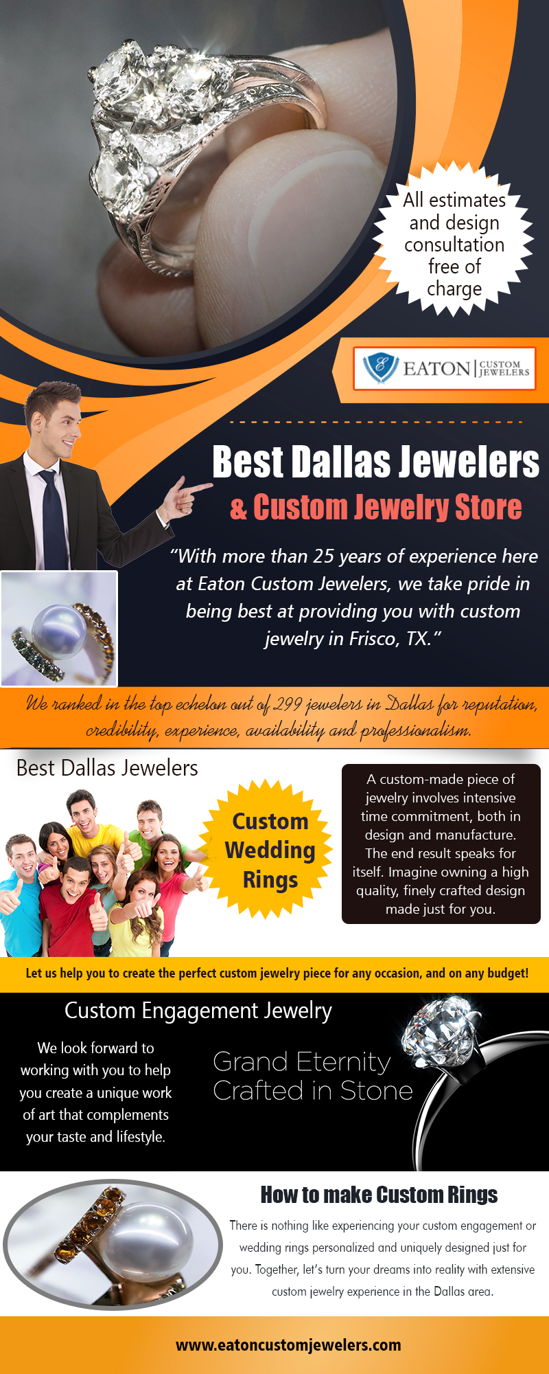 Best Dallas Jewelers & Custom Jewelry Store