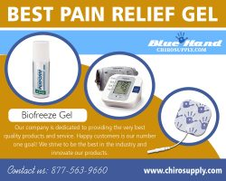 Best Pain Relief Gel | 8775639660 | chirosupply.com