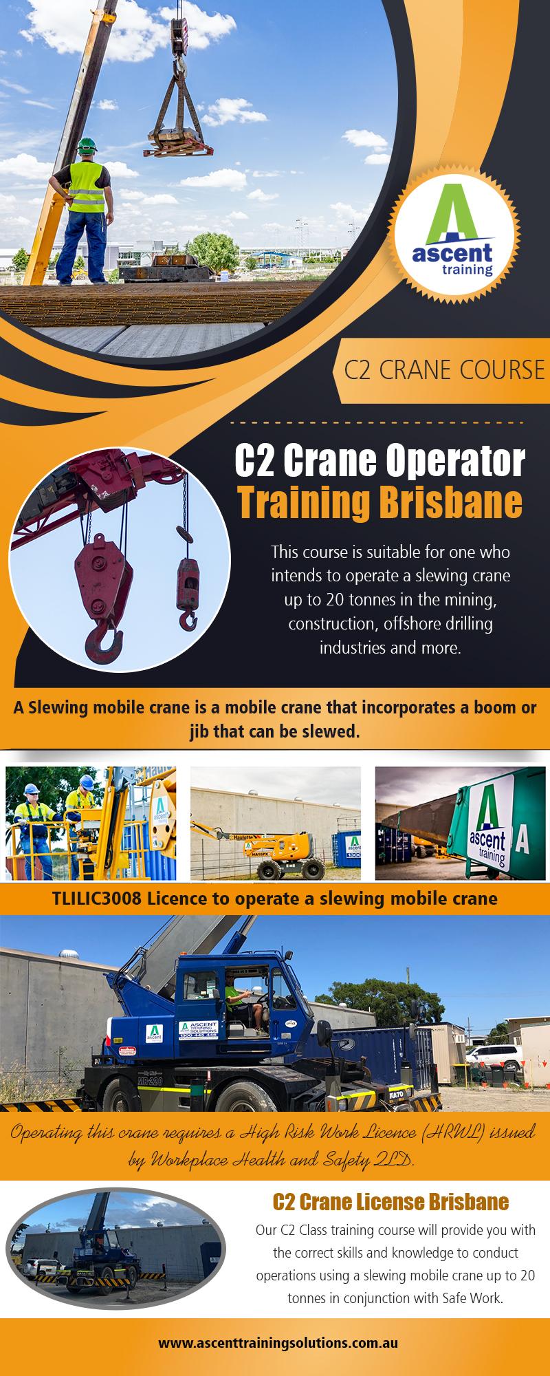 C2 Crane Operator Training Brisbane
