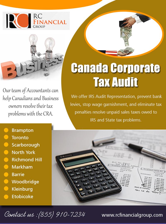 Canada Corporate Tax Audit