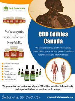 CBD Edibles Canada