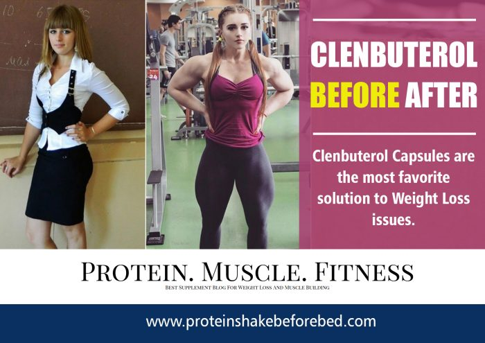 Clenbuterol Before After