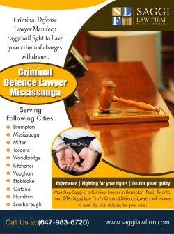 Criminal Defence Lawyer Mississauga