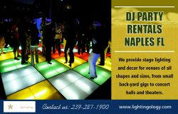 DJ Party rentals Naples FL
