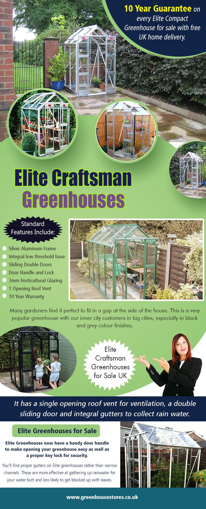 Elite Craftsman Greenhouses