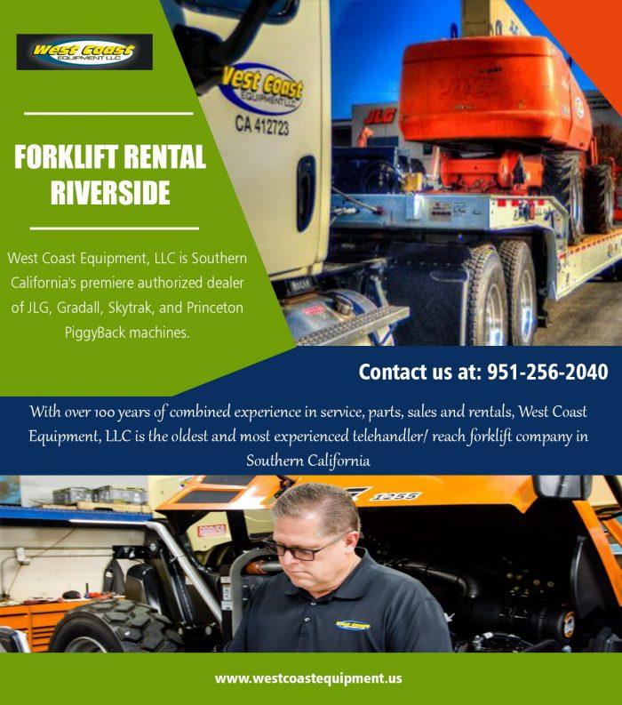 Forklift Rental Riverside||westcoastequipment.us||1-9512562040