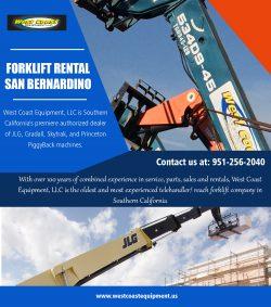 Forklift Rental San Bernardino||westcoastequipment.us||1-9512562040