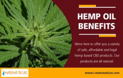 Hemp Oil Benefits