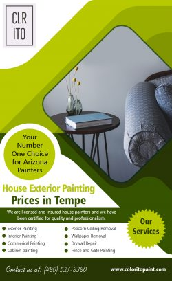 House exterior painting prices in Tempe