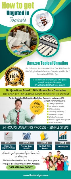How To Get Approved For Topicals On Amazon | thefunnelguru.com