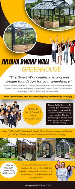 Juliana Dwarf Wall Greenhouse