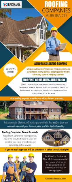Roofing Companies Aurora