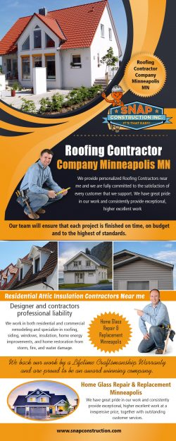 Roofing Contractor Company IN Minneapolis MN