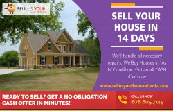 Sell Your House in 14 Days|www.sellusyourhouseatlanta.com|6788057115