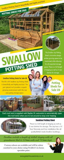 Swallow Potting Shed