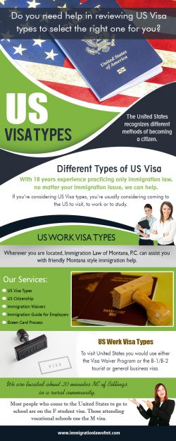Us visa types
