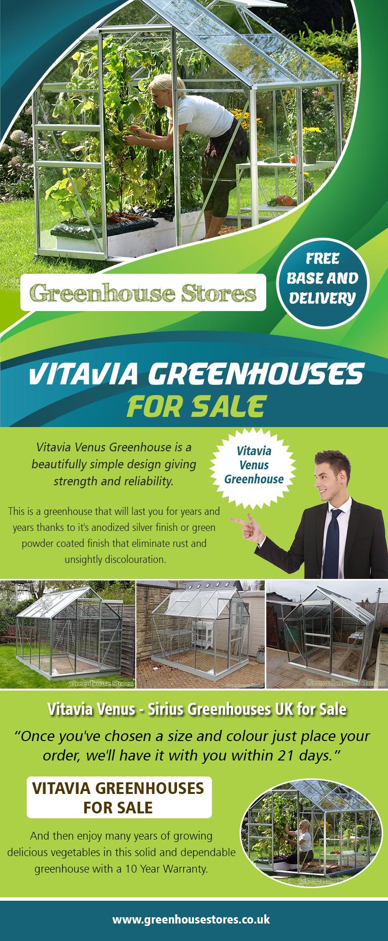 Vitavia Greenhouses for Sale