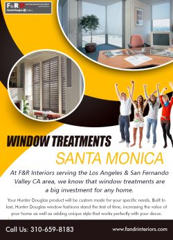 Window Treatments Santa Monica
