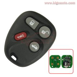 KOBUT1BT KOBLEAR1XT remote fob 4 button 315Mhz for GM