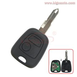 Remote key NE72 434Mhz for Peugeot 206 2 button