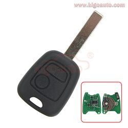 Remote key HU83 434Mhz for Peugeot 307