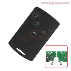 285975779R Remote Smart Card Key 4 button 433.9mhz PCF7952 for Renault Laguna III Megane III Sce ...