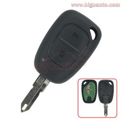 Remote key 433Mhz NE73 blade ID46-PCF7946 ASK for Renault Master Trafic 2 button