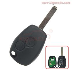 Remote key 2 button VA6 PCF7946 PF7947 ASK for Renault Clio Modus Twingo Kangoo