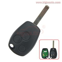 Clio Modus Twingo Kangoo remote key 3 button 434Mhz VA6 blade PCF7947 ASK for Renault