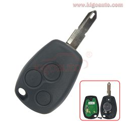 Remote key NE73 434Mhz PCF7947 ASK for Renault Clio III Kangoo II Master Modus 3 button 2006-2012
