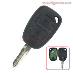 Remote key 434Mhz VAC102 blade for Renault Traffic Kangoo 2 button