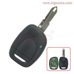 Remote key 434Mhz PCF7946 ASK for Renault Clio 1 button