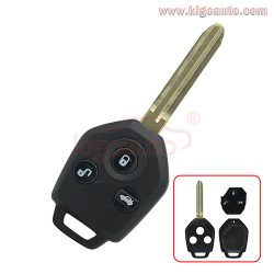 88049SC000 remote key 3 button 434Mhz 82G chip for Subaru Forester
