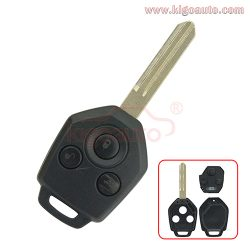 Remote key 3button 434Mhz 4D62 chip NSN19 for Subaru Forest
