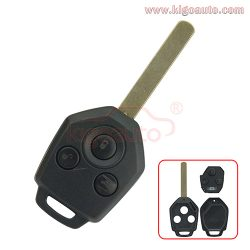 88049SC000 remote key 3 button 434Mhz 4D60 chip for Subaru OUTBACK TRIBECA LEGACY 2009 2010 2011