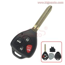 HYQ12BBY GQ4-29T Remote key 4 button TOY43 315Mhz for Toyota Camry Corolla 2007 2008 2009 2010