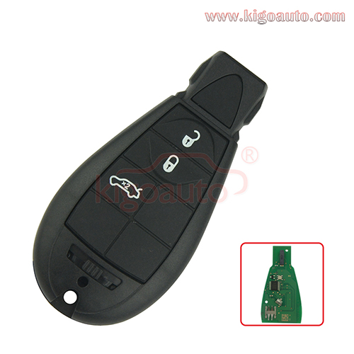 #2 68066859AD 3 Button Fobik Remote for Chrylser 300C 2008 2009 2010