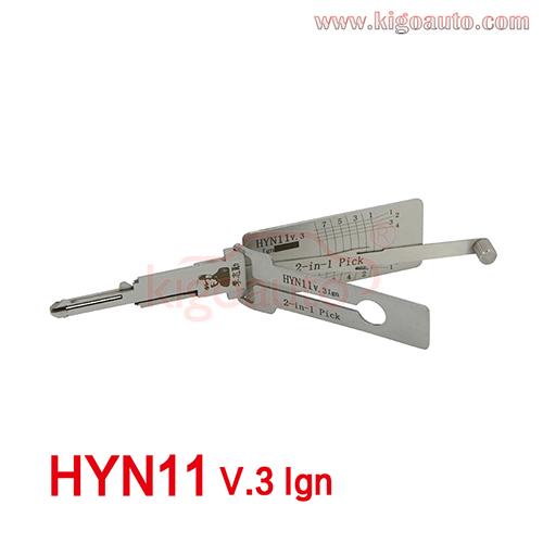 Lishi 2in1 Pick HYN11 V.3 Ign
