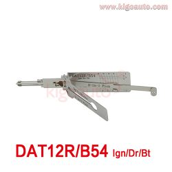 Lishi 2in1 Pick DAT12R/B54 Ign/Dr/Bt