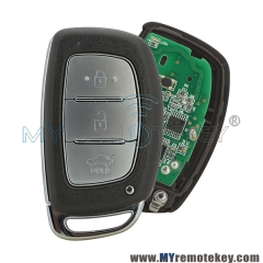 Smart car key for Hyundai Verna 433mhz 3 button ID46 electronic chip