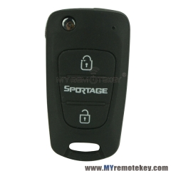 Flip key for Kia Sportage 3 buttons 434mhz 46chip TOY48