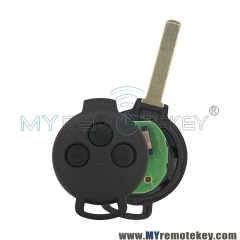 Remote key for Smart Fortwo 3 button 434mhz