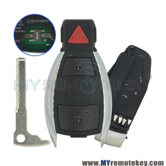 Smart key keyless entry for Mercedes benz 2 button with panic