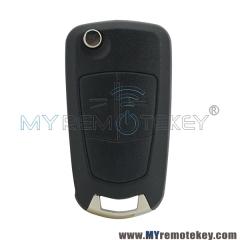 DELPHI G1-AM433TX 93189840 flip car Remote key 2 button HU100 433Mhz ID46-PCF7941 chip G1-AM433T ...