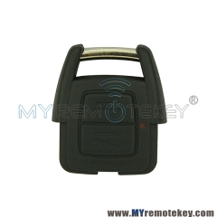 Remote key fob 2 button 434Mhz for Opel Vauxhall Astra Vectra Zafira Omega